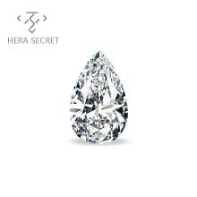 ForeverFlame G H Pear Cut diamond CVD CZ Moissanite