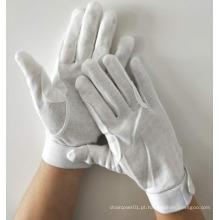 Luvas de algodão de velcro com gancho e laço