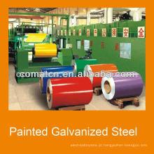Bobinas de aço galvanizado pré-pintadas