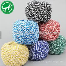 Los panaderos coloreados del algodón trenzan la secuencia para la cuerda de algodón al por mayor