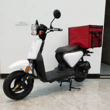 Fast Food Delivery Scooter With Bike Delivery Bag