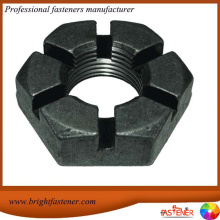 Good Quality for Hexagon Slotted Nuts, Slotted Round Nuts, Slotted Hex Nuts Suppliers and Manufacturer High Quantity DIN935 Hex Slotted Nuts export to Mauritania Importers