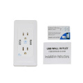 5V 2A Double Usb Wall Socket