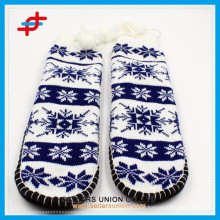 Winter Knitted Fuzzy Thick Home Indoor Warm Anti-Slip Kids Socks