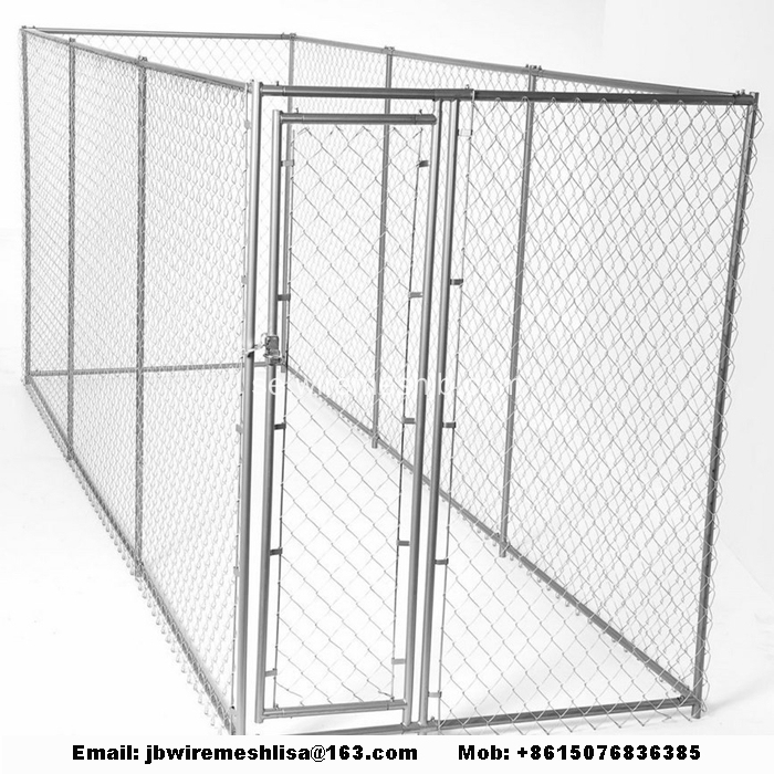 Galvaniserade Chain Link Dog Kennels