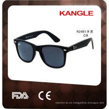 2017 gafas de sol de plástico personalizadas