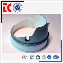 White painted custom made aluminium lamp shade rings die casting