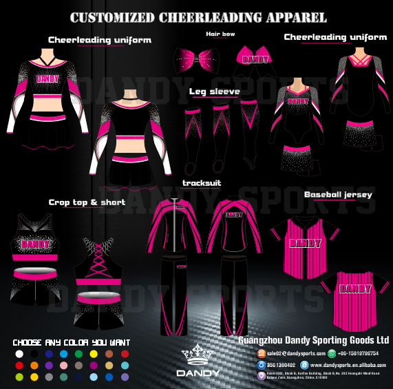Kids Cheerleading Outfit