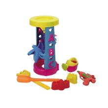 Открытый летний 7шт дети Пластиковые песчаный пляж игрушки (10226029)