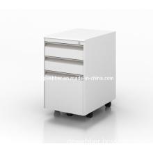 Metal Mobile Pedestal for Convenient File Storage