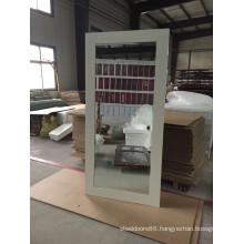 White Laminated Mirror Door