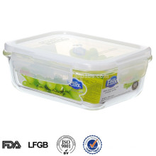 easylock airtight glass food storage containers for food