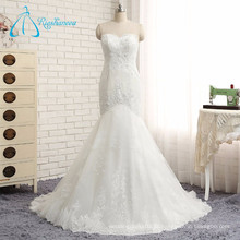 2017 Hot Popular Tulle Beading Lace Mermaid Sexy Wedding Dress