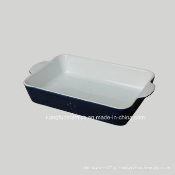 Baixo Preço New Design Cerâmica Bakeware (conjunto)