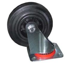 Platform Hand Trolley/Truck/Cart Caster/Castor Rubber Wheel (trolley caster)