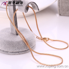 Xuping Fashion 18k Collier en forme de serpent en forme d'or (42089)