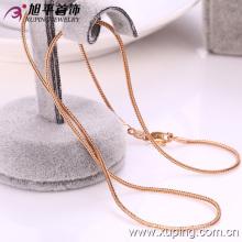 Xuping moda 18k ouro cor cobra-forma colar (42089)