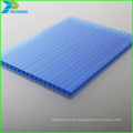 450 Hoja de policarbonato tipo hueco con marco de aluminio