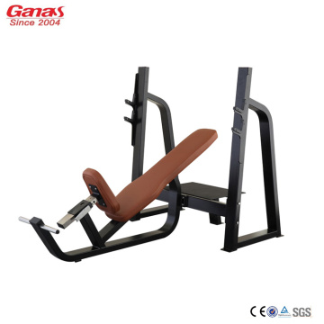 Olympic Incline Bench Press의 최고 체육관 장비