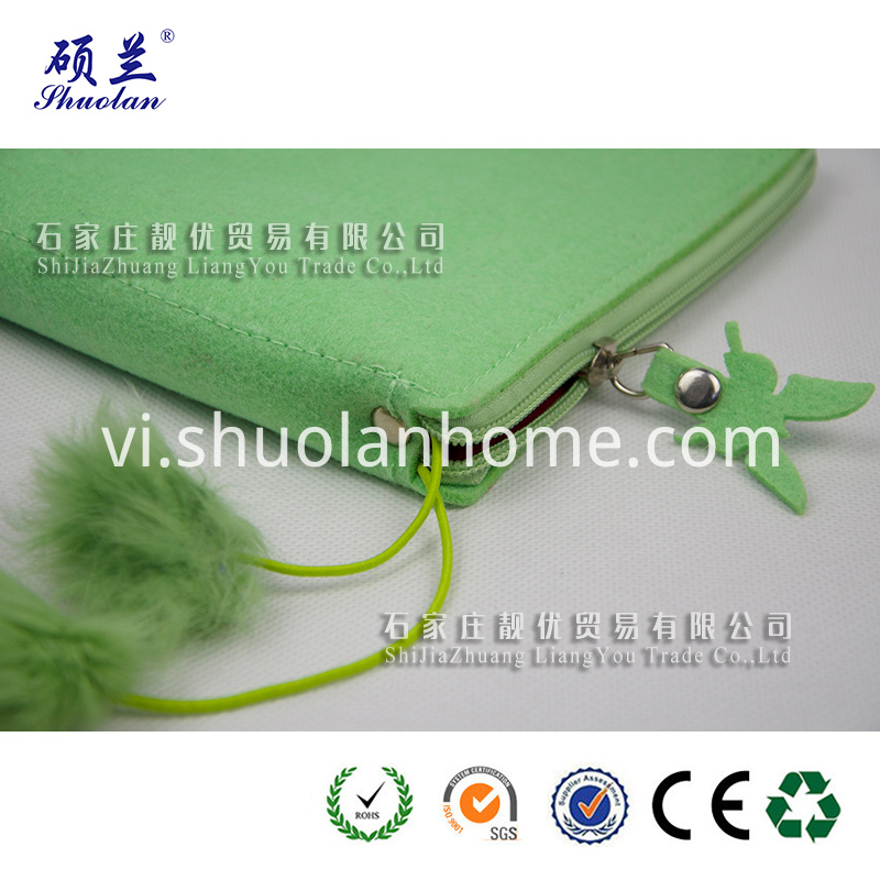 Wholesale Green Felt Storage Cover