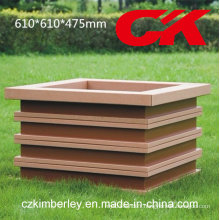 100% recyclable WPC Fower Box de Chine