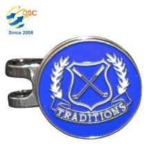 Kundenspezifische einzigartige Double Side Günstige Metall Craft Golf Cap Clip