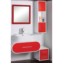 Meubles modernes de Cabinet de salle de bains de PVC (C-6069)