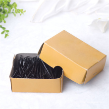 5,5 cm Box verpackt klassische schwarze Metall Haarnadeln (JE1040)