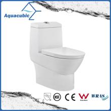 Washdown Dual Flush One Piece Ceramic Toilet (ACT8838)