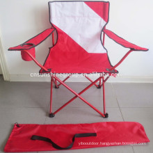 Outdoor Folding Beach Chair With Flag Printing/Flag Chair