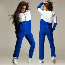 Outono Blank Cotton Hoodies para mulheres roupas Sportwear (R)