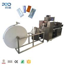 Automatic Single Sachet Wet Wipe Canister Sealing Machine Wet Wipes Making Machinery