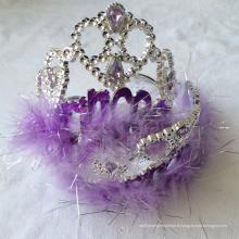 Nouveau Fée Plastique Clignotant Princesse Métallique Tiara