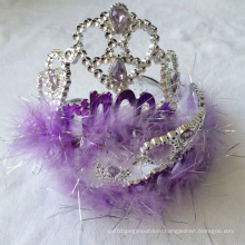 New Plastic Fairy Blinking Metallic Princess Tiara