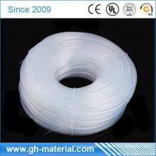 Tuyaux flexibles transparents de tuyauterie en caoutchouc de silicone à hautes températures