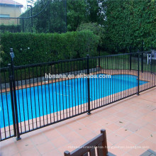 Metal Garden Fence / Cheap Wrought Iron Grill Fence Panels For Sale