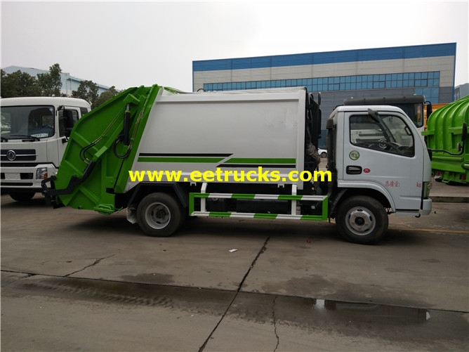 130HP Compressed Trash Vehicles