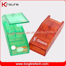 Any Color Plastic Pill Box with 3-Cases (KL-9005)