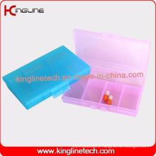 Latest Design Plastic 6-Cases Pill Box (KL-9113)