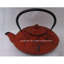 Concepção do cliente Ferro fundido Teapot 0.8L