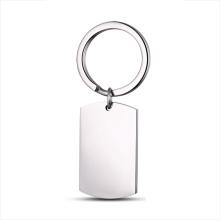 Charm Jewelry Factory Supply Venta al por mayor llavero personalizado