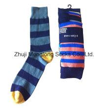 Hombres de buena calidad calcetines de vestir cotidiana casual