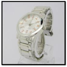 Relógios de aço inoxidável New Hot Selling Factory Diretamente Swiss Mov′t Stainless Steel Band
