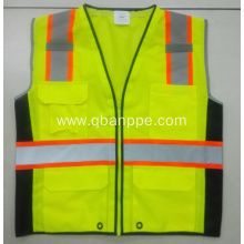high visibility biocolor reflective safety vest
