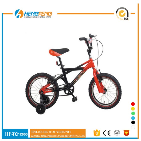 "new style 12"" children bicycle with bike training wheels kid motorcross bike"
