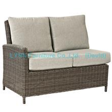Плетеная мебель Правая часть Ротанг Угловой диван