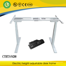 Quality Electric Metal Height Adjustable Office Desk/Table Frame