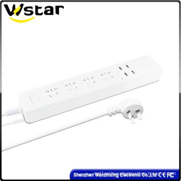 4 Gang 4 USB Electrical Socket