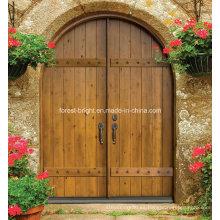Puerta exterior del apartamento de seguridad para la casa