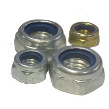 Carbon steel Self Locking Nut Thin hex nylon lock nut DIN985